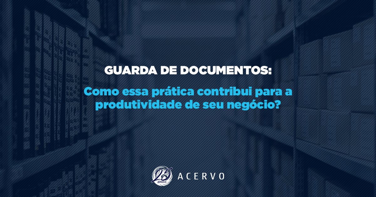 E-book: Guarda de documentos