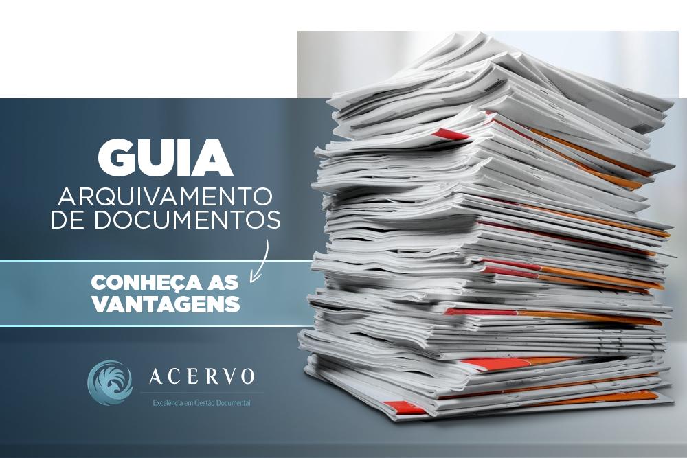 Guia do arquivamento de documentos