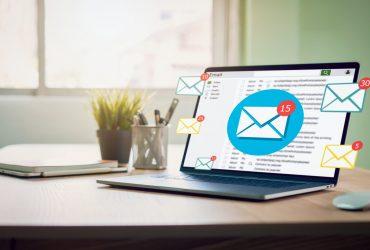Como organizar minha caixa de email?