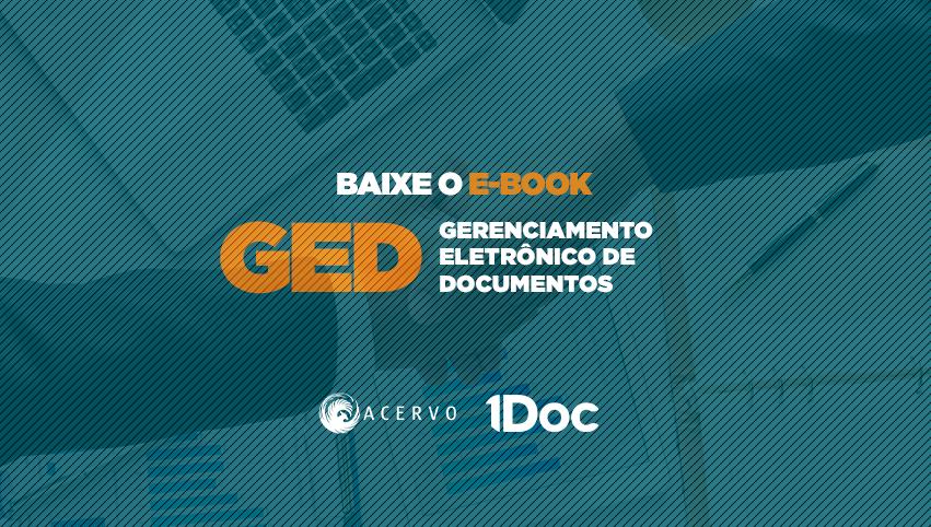 E-book: GED Gerenciamento eletrônico de documentos