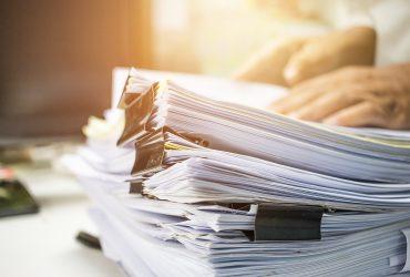 Guardar corretamente documentos é tão importante quanto pagar contas
