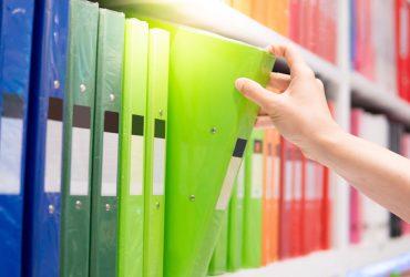 5 métodos simples de organização de documentos físicos para você começar agora mesmo