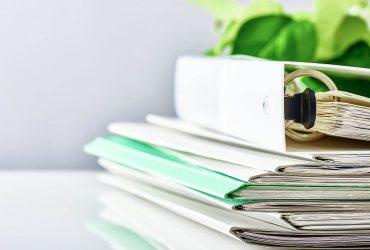 Como organizar e guardar documentos por data?