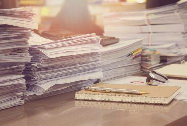 Quais arquivos podem ser descartados após a digitalização de documentos?